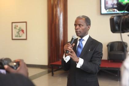 Prof. Yemi Osinbajo Nigeria's Vice President