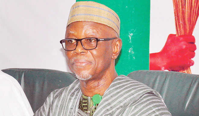 Chief John Odigie-Oyegun, National Chairman of All Progressives Congress (APC)
