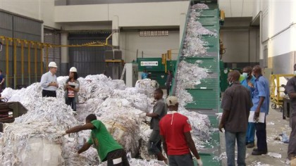 Minister of Environment Promises To Promote Use Of Recycled Materials