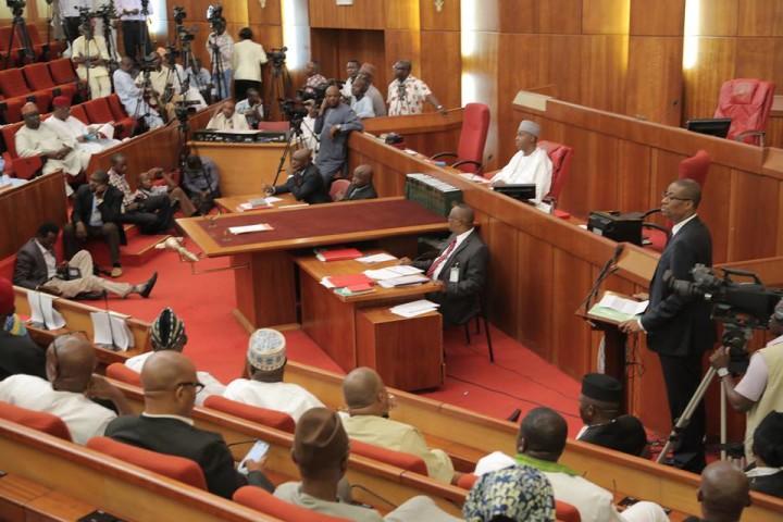 Senate Chamber,National Assembly Nigeria (Photo: Internet)