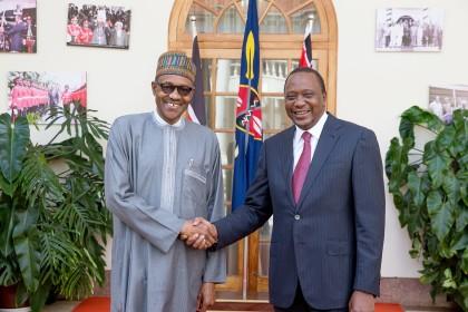 President Buhari And President Kenyatta