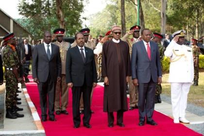 President Buhari In Kenya