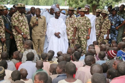 Lai Muhammed In One Of The IDP's