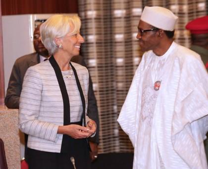 President Buhari And IMF MD Lagarde