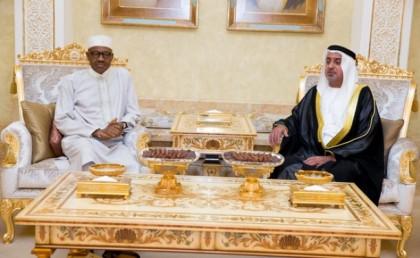 Muhammadu Buhari Nigeria's President During Visit UAE