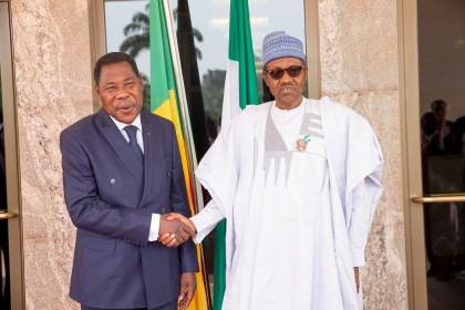 President Buhari And President Boni