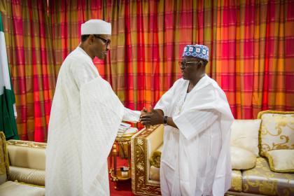 President Buhari and Gov. Almakura of Nasarawa State