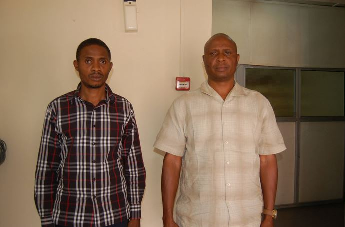 The Duo Fraudsters Arraigned in Delta State