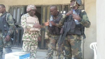 Nigerian Commander And Cameroon Commander