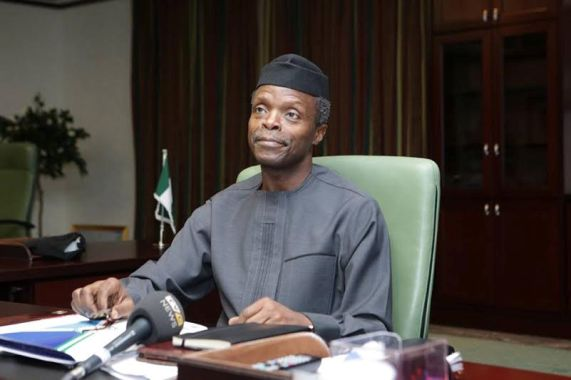 Vice President of The Republic of Nigeria, Prof. Yemi Osinbajo