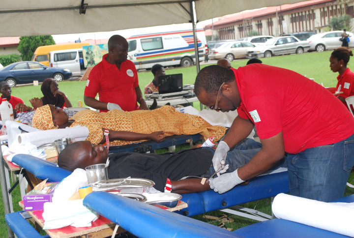 Blood donation exercise (Photo: Internet)