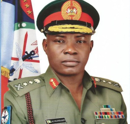 General A.G Olonisakin, Chief of Defence Staff, Nigeria