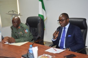 GMD NNPC and Chief of Defense Staff