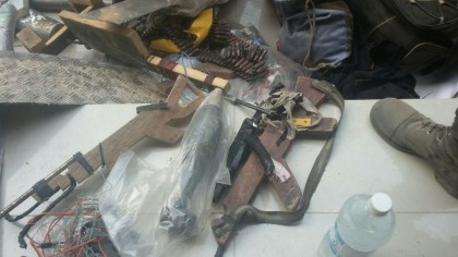 Weapons Discovered From Boko Haram