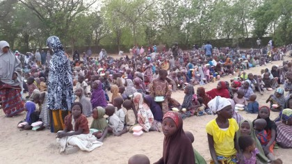 Internally Displaced Person's in Yobe State Camp