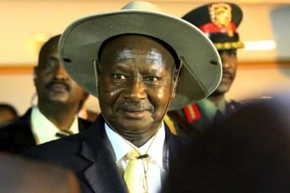 Yoweri Museveni Ugandan President