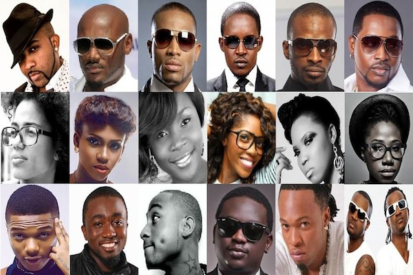 Faces of Nigerian Artists