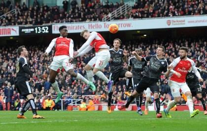 Danny Welbeck's Winner For Arsenal