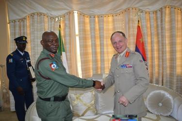 Nigeria CDS And US Deputy Military Adviser