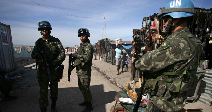 UN Peacekeeping Troops (Photo Internet)