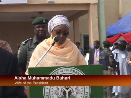 Aisha Muhammadu Buhari, Wife of the President of Nigeria