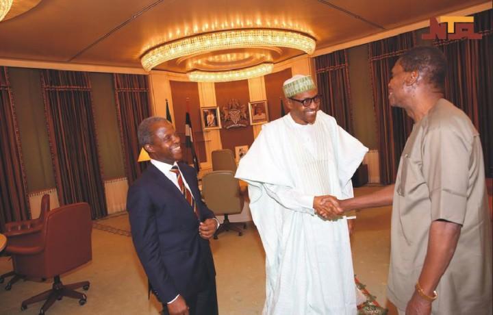 President Buhari Congratulates Pastor Adeboye at 74