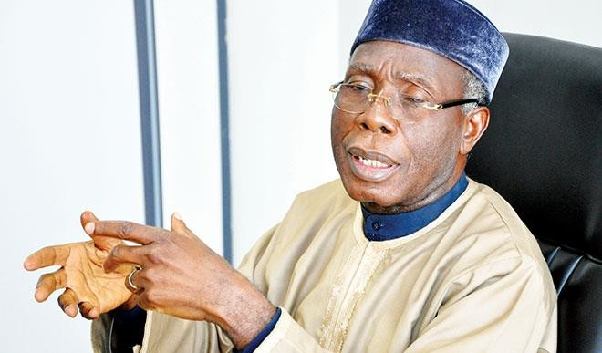 Chief Audu Ogbe, Minster of Agriculture and Rural Development