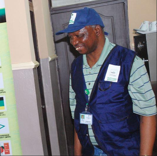 Professor Jacob Jatau INEC