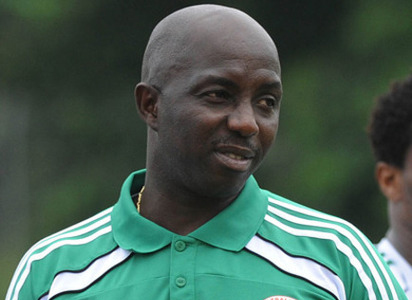 Samson Siasia Super Eagles Interim Manager