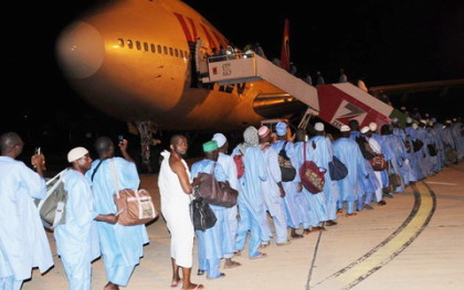 airlifting for Hajj