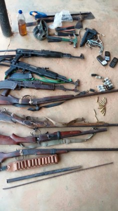 Arms Recovered From Suspect