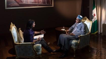 President Buhari With Aljazeera Denis