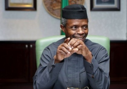 Prof. Yemi Osinbajo Nigeria' Vice President