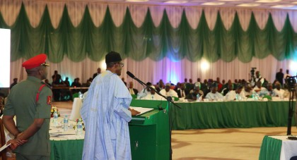 President Buhari Address NEC