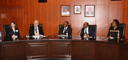 CBN Governor, Emefiele With German Businessmen Delegation