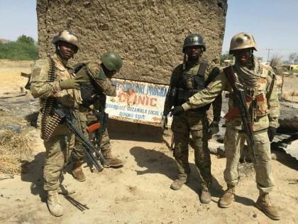 Nigerian Army At Gudumbali