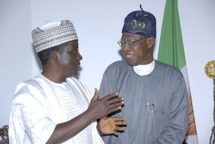 Simon Lalong and Lai Mohammed