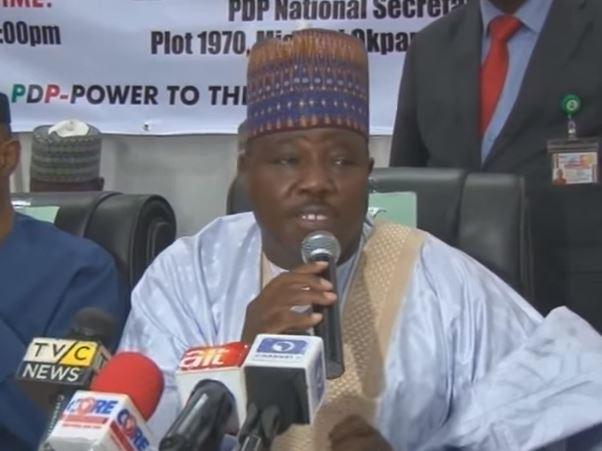Alh. Ali Modu Sherrif National Chairman PDP