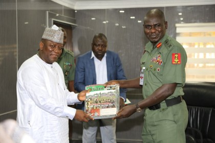 Zamfara State Governor Yari And COAS Buratai