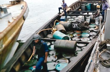 Navy seizes boats