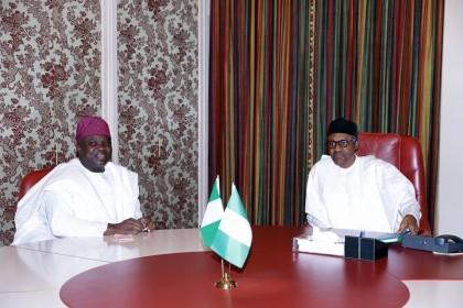 President Buhari with Gov. Ambode of Lagos State
