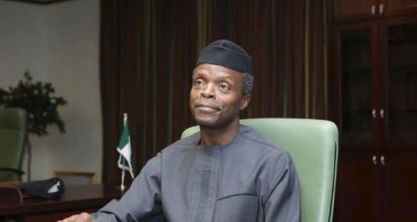 Vice President, Professor Yemi Osinbajo, SAN