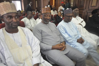 Nyako., Sen. Nyako and Others In Court