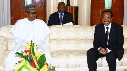 President Buhari and Biya of Cameroon