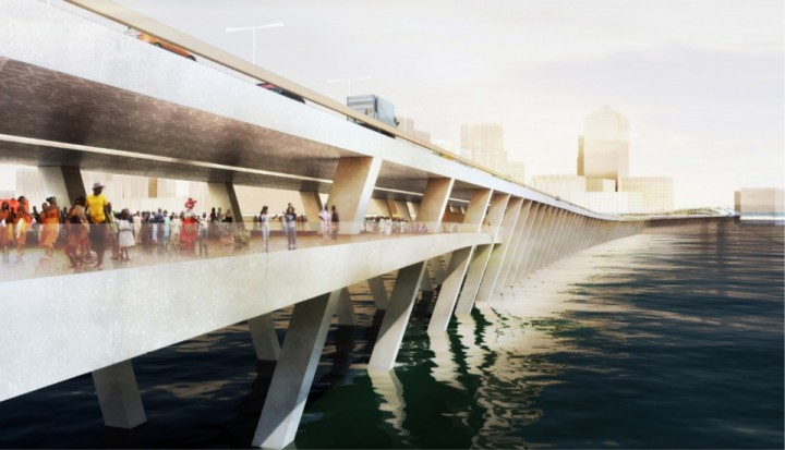 Initial Design Model of the Proposed Lagos 4th Mainland Bridge(PHOTO: NLENetwork)