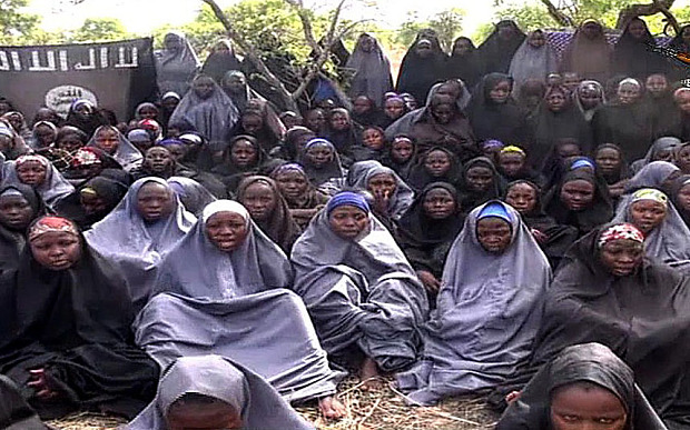 Screengrab from Boko Haram video release May 2014