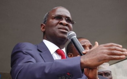 Minister of Power, Works and Housing, Babatunde Raji Fashola (SAN)