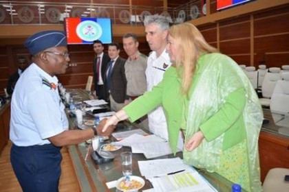 UK Delegation Meets Nigerian Armed Forces Representative