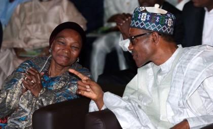 President Buhari and Ajoke Muhammed