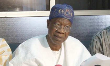 Lai Mohammed  Nigeria's Minister of Information and Culture